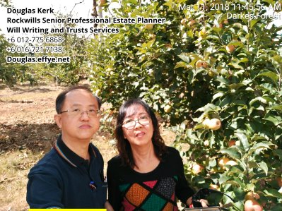Douglas Kerk Rockwills Senior Professional Estate Planner - Will Writing and Trusts Services Batu Pahat and Kluang Johor Malaysia Property Management PA03-24