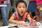 Batu Pahat Gereja Joy Soga Colouring Contest 苏雅喜乐堂主办2018年 峇株巴辖双亲节儿童填色画画比赛 培养儿童对彩色画画的兴趣 发掘美术的潜能 C1-68