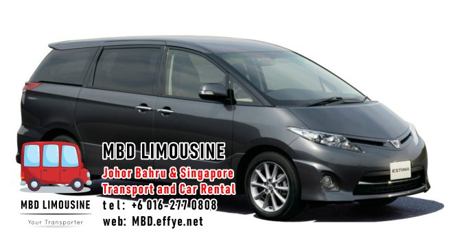 MBD Limousine Johor Bahru Transport and Car Rental Malaysia Transport and Car Rental Singapore Transport and Car Rental Transport between Malaysia and Singapore PA01-10