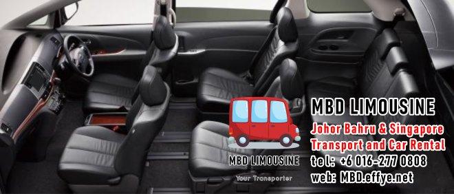 MBD Limousine Johor Bahru Transport and Car Rental Malaysia Transport and Car Rental Singapore Transport and Car Rental Transport between Malaysia and Singapore PA01-12