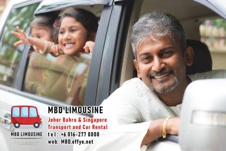 MBD Limousine Johor Bahru Transport and Car Rental Malaysia Transport and Car Rental Singapore Transport and Car Rental Transport between Malaysia and Singapore PA02-10