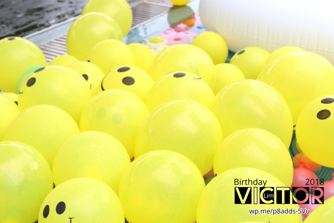 Victor Lim Birthday 2018 in Malaysia Party Buffet Swimming Fun A15