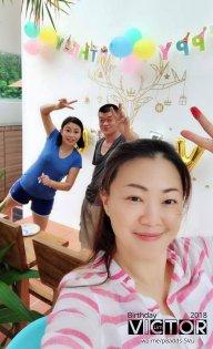 Victor Lim Birthday 2018 in Malaysia Party Buffet Swimming Fun A37