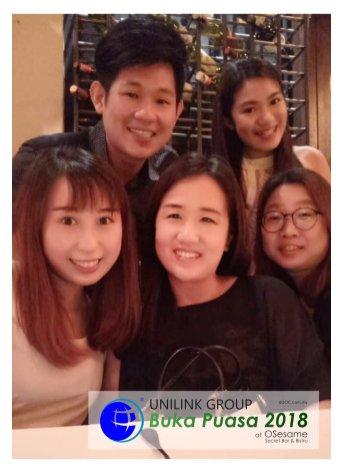 Unilink Group Buka Puasa Dinner 2018 Selamat Hari Raya Aidilfitri from Agensi Pekerjaan Unilink Prospects Sdn Bhd at Osesame Secret Bar and Bistro 21