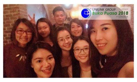 Unilink Group Buka Puasa Dinner 2018 Selamat Hari Raya Aidilfitri from Agensi Pekerjaan Unilink Prospects Sdn Bhd at Osesame Secret Bar and Bistro 22