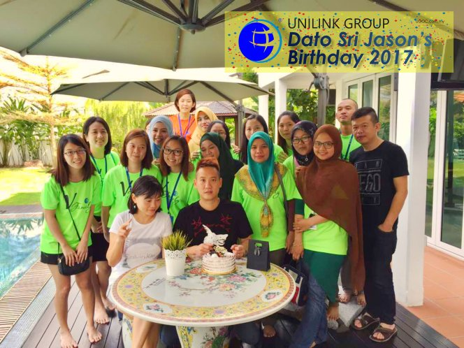 Unilink Group Happy Birthday Dato Sri Jason from Agensi Pekerjaan Unilink Prospects Sdn Bhd Your One-stop Recruitment Solution Center Malaysia 01