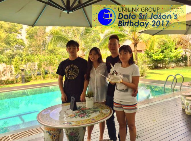 Unilink Group Happy Birthday Dato Sri Jason from Agensi Pekerjaan Unilink Prospects Sdn Bhd Your One-stop Recruitment Solution Center Malaysia 02