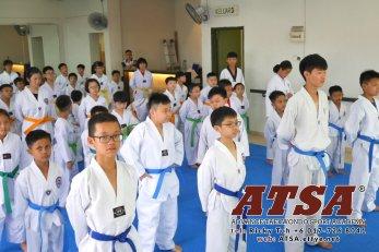 Batu Pahat Sports Ricky Toh Advance Taekwondo Sport Academy ATSA Education Martial Art Self Defence Fitness Poomdae Sparring Kyorugi Batu Pahat Johor Malaysia A02-16