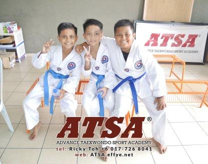 Batu Pahat Sports Ricky Toh Advance Taekwondo Sport Academy ATSA Education Martial Art Self Defence Fitness Poomdae Sparring Kyorugi Batu Pahat Johor Malaysia A02-21