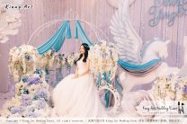 Kiong Art Wedding Event Kuala Lumpur Malaysia Wedding Decoration One-stop Wedding Planning Wedding Theme Fantasy Castle In The Snow Grand Sea View Restaurant A06-A01-14
