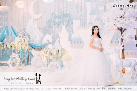 Kiong Art Wedding Event Kuala Lumpur Malaysia Wedding Decoration One-stop Wedding Planning Wedding Theme Fantasy Castle In The Snow Grand Sea View Restaurant A06-A01-40