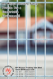 BP Wijaya Trading Sdn Bhd Malaysia Pahang Kuantan Temerloh Mentakab Manufacturer of Safety Fences Building Materials for Housing Construction Site Industial Security Fencing Factory A01-20