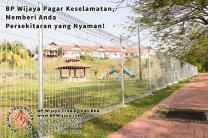 BP Wijaya Trading Sdn Bhd Malaysia Pahang Kuantan Temerloh Mentakab Pengeluar Pagar Keselamatan Pagar Taman Bangunan dan Kilang dan Rumah untuk Bandar Pemborong Pagar A01-26