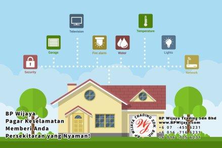 BP Wijaya Trading Sdn Bhd Malaysia Pahang Kuantan Temerloh Mentakab Pengeluar Pagar Keselamatan Pagar Taman Bangunan dan Kilang dan Rumah untuk Bandar Pemborong Pagar A01-42