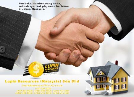 Johor Syarikat Pinjaman Berlesen Lupin Resources Malaysia SDN BHD Pembekal Sumber Wang Anda Kulai Johor Bahru Johor Malaysia Pinjaman Perniagaan Pinjaman Peribadi A01-63