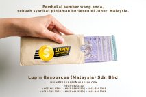 Johor Syarikat Pinjaman Berlesen Lupin Resources Malaysia SDN BHD Pembekal Sumber Wang Anda Kulai Johor Bahru Johor Malaysia Pinjaman Perniagaan Pinjaman Peribadi A01-77