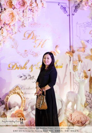 Kiong Art Wedding Event Kuala Lumpur Malaysia Wedding Decoration One-stop Wedding Planning Legend of Fairy Tales Grand Sea View Restaurant 海景宴宾楼 A08-A01-34