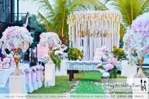 Kiong Art Wedding Event Kuala Lumpur Malaysia Wedding Decoration One-stop Wedding Planning Warm Outdoor Romantic Style Theme Kluang Container Swimming Pool Homestay A07-A01-01