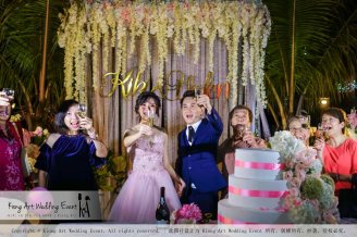 Kiong Art Wedding Event Kuala Lumpur Malaysia Wedding Decoration One-stop Wedding Planning Warm Outdoor Romantic Style Theme Kluang Container Swimming Pool Homestay A07-A01-25