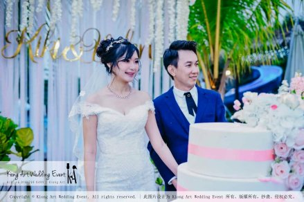 Kiong Art Wedding Event Kuala Lumpur Malaysia Wedding Decoration One-stop Wedding Planning Warm Outdoor Romantic Style Theme Kluang Container Swimming Pool Homestay A07-A01-41