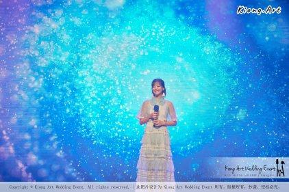 陈永馨于朋友婚礼上献唱-陈永馨-中国好声音-马来西亚婚礼布置 001