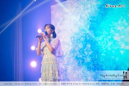陈永馨于朋友婚礼上献唱-陈永馨-中国好声音-马来西亚婚礼布置 006