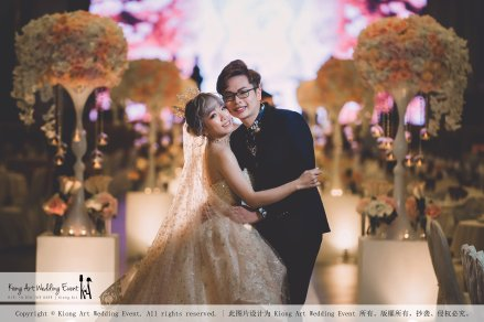 Malaysia Kuala Lumpur Wedding Event Kiong Art Wedding Deco Decoration One-stop Wedding Planning of Kent and Hann Wedding at Huang Cheng Banquet Muar A10-A01-21