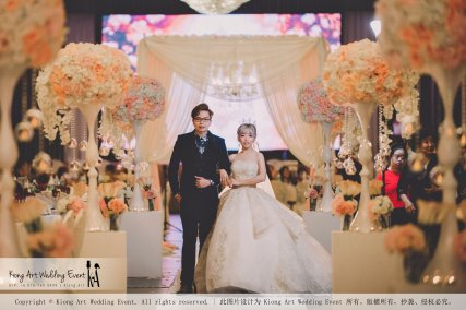 Malaysia Kuala Lumpur Wedding Event Kiong Art Wedding Deco Decoration One-stop Wedding Planning of Kent and Hann Wedding at Huang Cheng Banquet Muar A10-A01-24