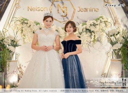 Malaysia Kuala Lumpur Wedding Event Kiong Art Wedding Deco Decoration One-stop Wedding Planning of Nelson and Jeanine Wedding 陈永馨 中国好声音 A11-A01-11