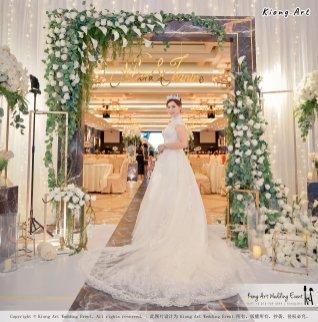 Malaysia Kuala Lumpur Wedding Event Kiong Art Wedding Deco Decoration One-stop Wedding Planning of Nelson and Jeanine Wedding 陈永馨 中国好声音 A11-A01-30