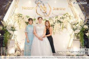 Malaysia Kuala Lumpur Wedding Event Kiong Art Wedding Deco Decoration One-stop Wedding Planning of Nelson and Jeanine Wedding 陈永馨 中国好声音 A11-A02-15