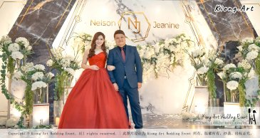 Malaysia Kuala Lumpur Wedding Event Kiong Art Wedding Deco Decoration One-stop Wedding Planning of Nelson and Jeanine Wedding 陈永馨 中国好声音 A11-A04-15
