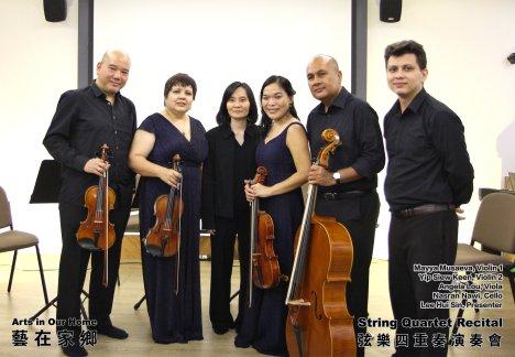 String Quartet Recital Arts in Our Home Batu Pahat Johor Malaysia 弦乐四重奏演奏会 艺在家乡 峇株巴辖 柔佛 马来西亚 A014