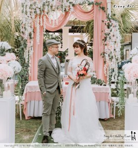 Malaysia Kuala Lumpur Wedding Decoration Kiong Art Wedding Deco Eternal Registration of Marriage Ceremony Open-air Party of Jack and Fish ROM at Kluang Container Hotel A14-A01-072