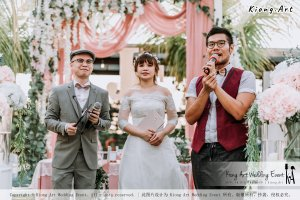 Malaysia Kuala Lumpur Wedding Decoration Kiong Art Wedding Deco Eternal Registration of Marriage Ceremony Open-air Party of Jack and Fish ROM at Kluang Container Hotel A14-A01-139
