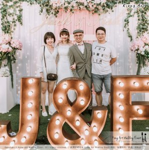 Malaysia Kuala Lumpur Wedding Decoration Kiong Art Wedding Deco Eternal Registration of Marriage Ceremony Open-air Party of Jack and Fish ROM at Kluang Container Hotel A14-A01-209