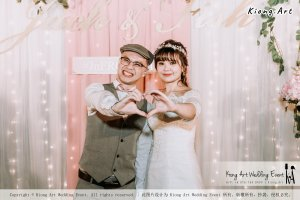 Malaysia Kuala Lumpur Wedding Decoration Kiong Art Wedding Deco Eternal Registration of Marriage Ceremony Open-air Party of Jack and Fish ROM at Kluang Container Hotel A14-A01-266