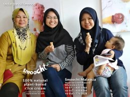 Smoocth Malaysia Vegan Ice Cream Malaysia at Batu Pahat Johor Malaysia Dessert Wholesale Ice Cream and Retail Ice Cream Plant-Based Products Taste The Different of Rice Cream B01-015