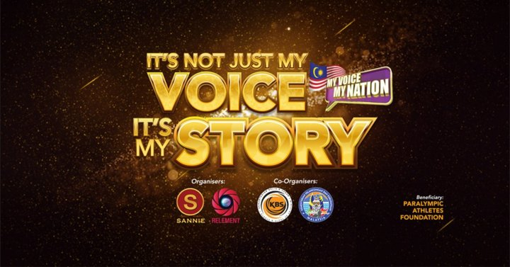 26 June 2019 It Is Not Just My Voice It Is My Story My Voice My Nation 2019 Ticket at Axiata Arena Bukit Jalil Opening Speaker YAB Tun Dr Mahathir Mohamad Prime Minister Malaysia A00