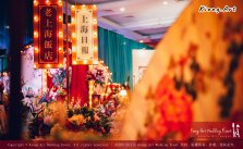 Kuala Lumpur Wedding Deco Decoration Kiong Art Wedding Deco Old Shanghai Style Wedding 旧上海风情婚礼 Steven and Tze Hui at Golden Dragonboat Restaurant 金龙船鱼翅海鲜酒家 Malaysia A16-A01-014