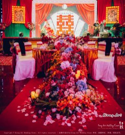 Kuala Lumpur Wedding Deco Decoration Kiong Art Wedding Deco Old Shanghai Style Wedding 旧上海风情婚礼 Steven and Tze Hui at Golden Dragonboat Restaurant 金龙船鱼翅海鲜酒家 Malaysia A16-A01-022