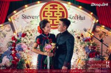 Kuala Lumpur Wedding Deco Decoration Kiong Art Wedding Deco Old Shanghai Style Wedding 旧上海风情婚礼 Steven and Tze Hui at Golden Dragonboat Restaurant 金龙船鱼翅海鲜酒家 Malaysia A16-A01-026
