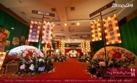 Kuala Lumpur Wedding Deco Decoration Kiong Art Wedding Deco Old Shanghai Style Wedding 旧上海风情婚礼 Steven and Tze Hui at Golden Dragonboat Restaurant 金龙船鱼翅海鲜酒家 Malaysia A16-A02-001