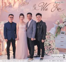Malaysia Wed Kuala Lumpur Wedding Deco Decoration Kiong Art Wedding Deco Warm and Happy Wedding Theme Chia Hao and Wei Xin Sin Yang Restaurant Batu Pahat A15-A01-012