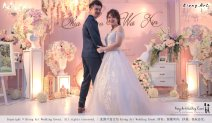 Malaysia Wed Kuala Lumpur Wedding Deco Decoration Kiong Art Wedding Deco Warm and Happy Wedding Theme Chia Hao and Wei Xin Sin Yang Restaurant Batu Pahat A15-A01-021