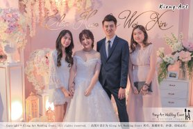 Malaysia Wed Kuala Lumpur Wedding Deco Decoration Kiong Art Wedding Deco Warm and Happy Wedding Theme Chia Hao and Wei Xin Sin Yang Restaurant Batu Pahat A15-A01-031
