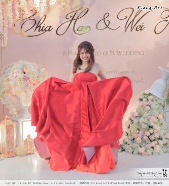 Malaysia Wed Kuala Lumpur Wedding Deco Decoration Kiong Art Wedding Deco Warm and Happy Wedding Theme Chia Hao and Wei Xin Sin Yang Restaurant Batu Pahat A15-A01-049