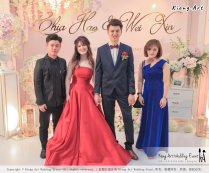 Malaysia Wed Kuala Lumpur Wedding Deco Decoration Kiong Art Wedding Deco Warm and Happy Wedding Theme Chia Hao and Wei Xin Sin Yang Restaurant Batu Pahat A15-A01-054