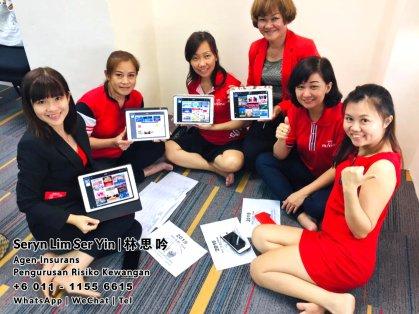 Seryn Lim Ser Yin Malaysia Johor Agen Insurans Perkhidmatan Insurans Perancangan Kewangan Pengurusan Risiko Kewangan Batu Pahat Johor Bahru Skulai Senai Muar Kluang Segamat Mersing 林思吟 A01-19
