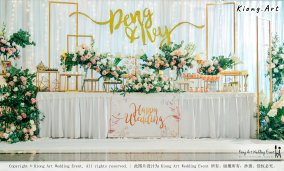 Kuala Lumpur Wedding Event Deco Wedding Planner Kiong Art Wedding Event 吉隆坡一站式婚礼策划布置 Klang Commercial Convention Centre KCCC 巴生皇城商务会展中心 F01-001